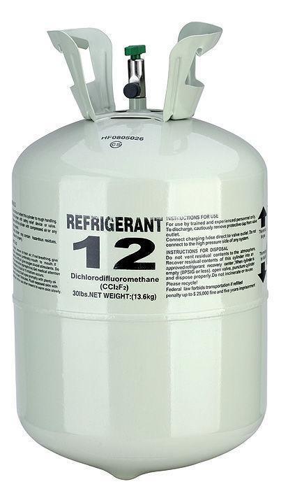 El-gas-refrigerante-R12-F12